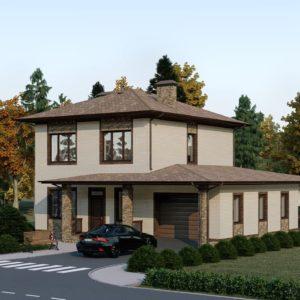 Проект дома s-65