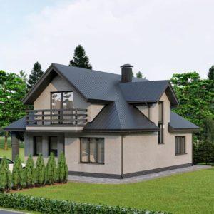 Проект дома s-99