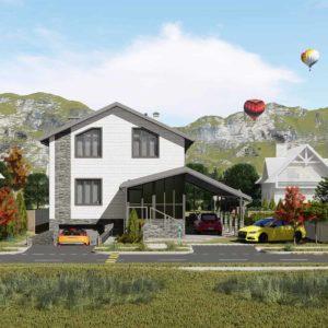 проект дома s-106