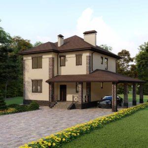 Проект дома s-72