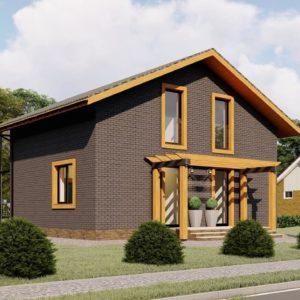 Проект дома s-98