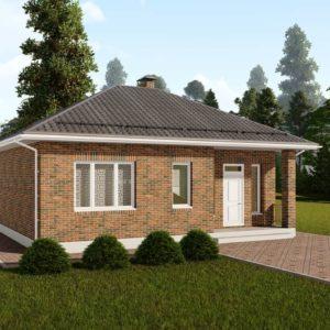 проект дома s-86
