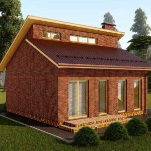 Проект дома s-97