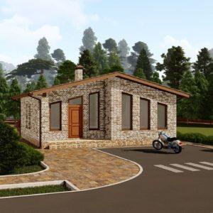 Проект дома s-87