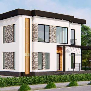 проект дома s-77