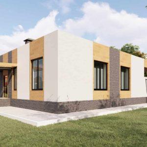 проект дома s-78