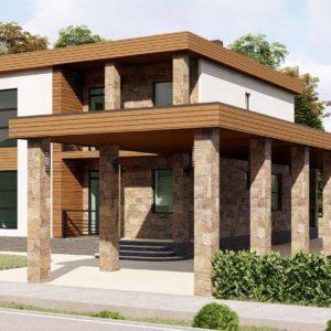Проект дома s-105