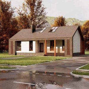 проект дома s-70