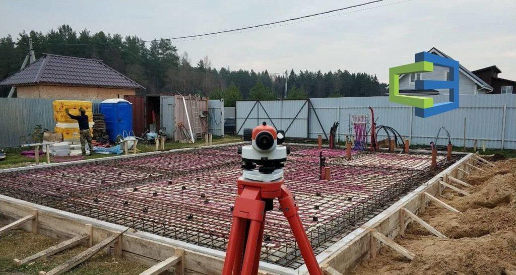 Строительство УШП фундамента под ключ в СПБ