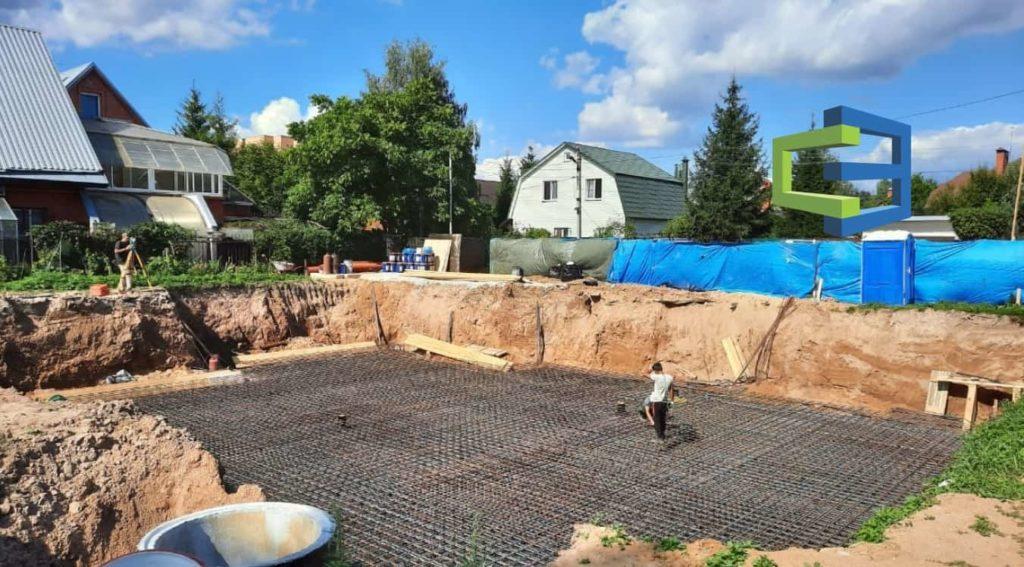 Строительство фундамента цокольный этаж в СПБ