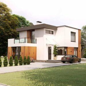 Проект дома s-52