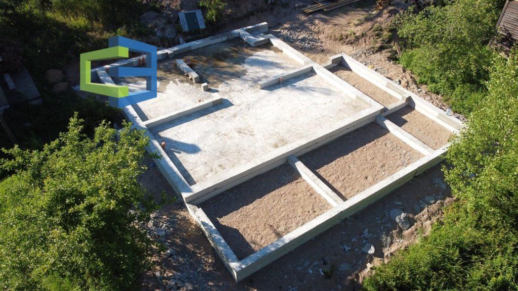Строительство фундамента для дома под ключ в СПБ
